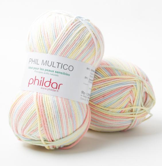laine phildar multico