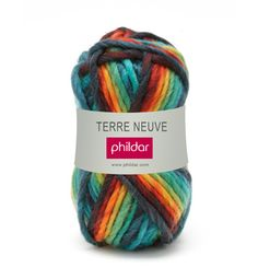 laine phildar multicolore