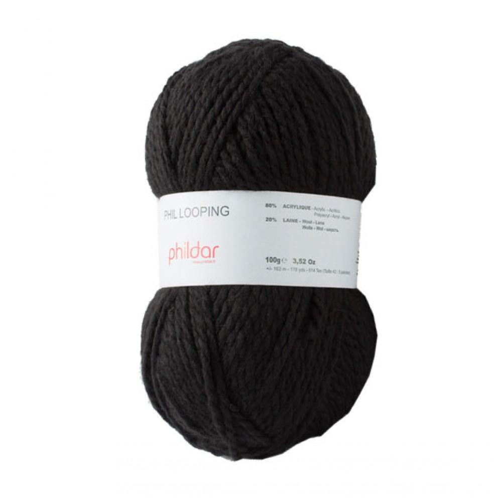 laine phildar noir