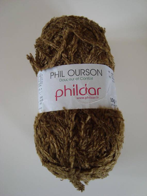 laine phildar ourson