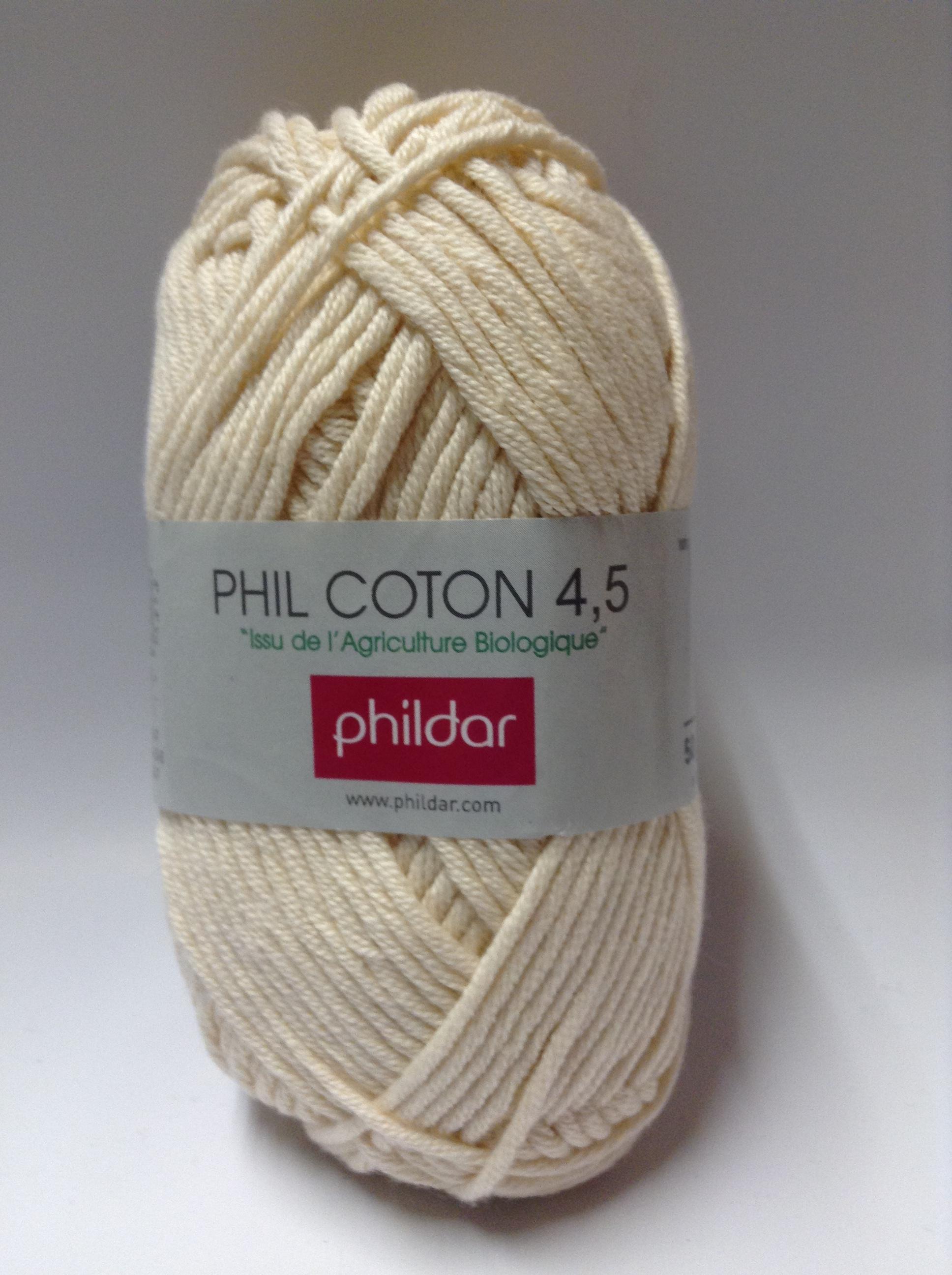 laine phildar phil coton 4 5