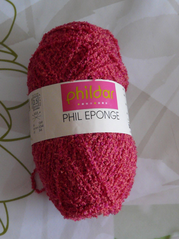 laine phildar phil eponge