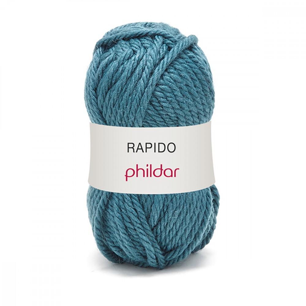 laine phildar rapido indigo