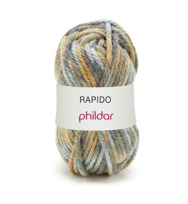 laine phildar rapido lichen