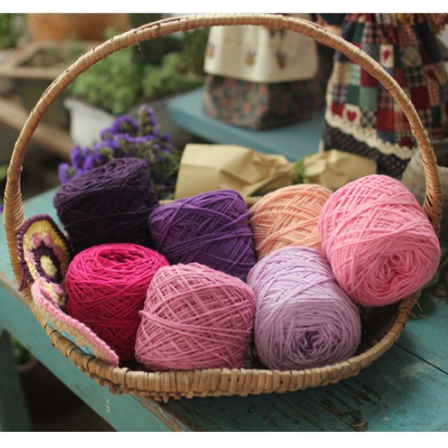 laine pour crochet 5