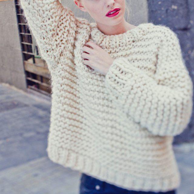 patron crochet grosse laine