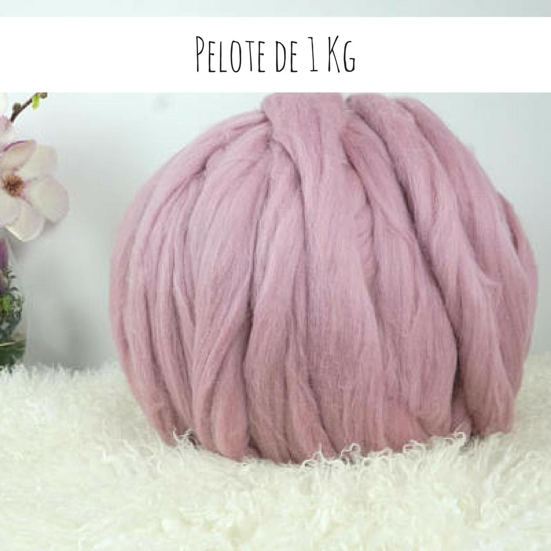 pelote de laine 1 kg