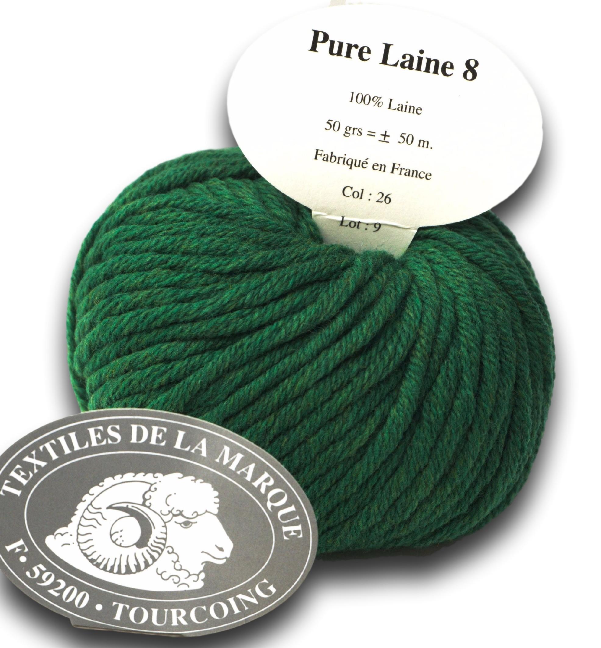 pelote de laine 100 laine