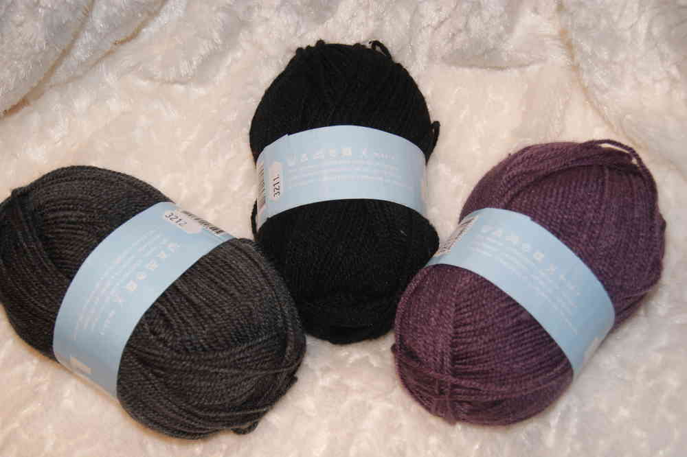 pelote de laine 100 polyester