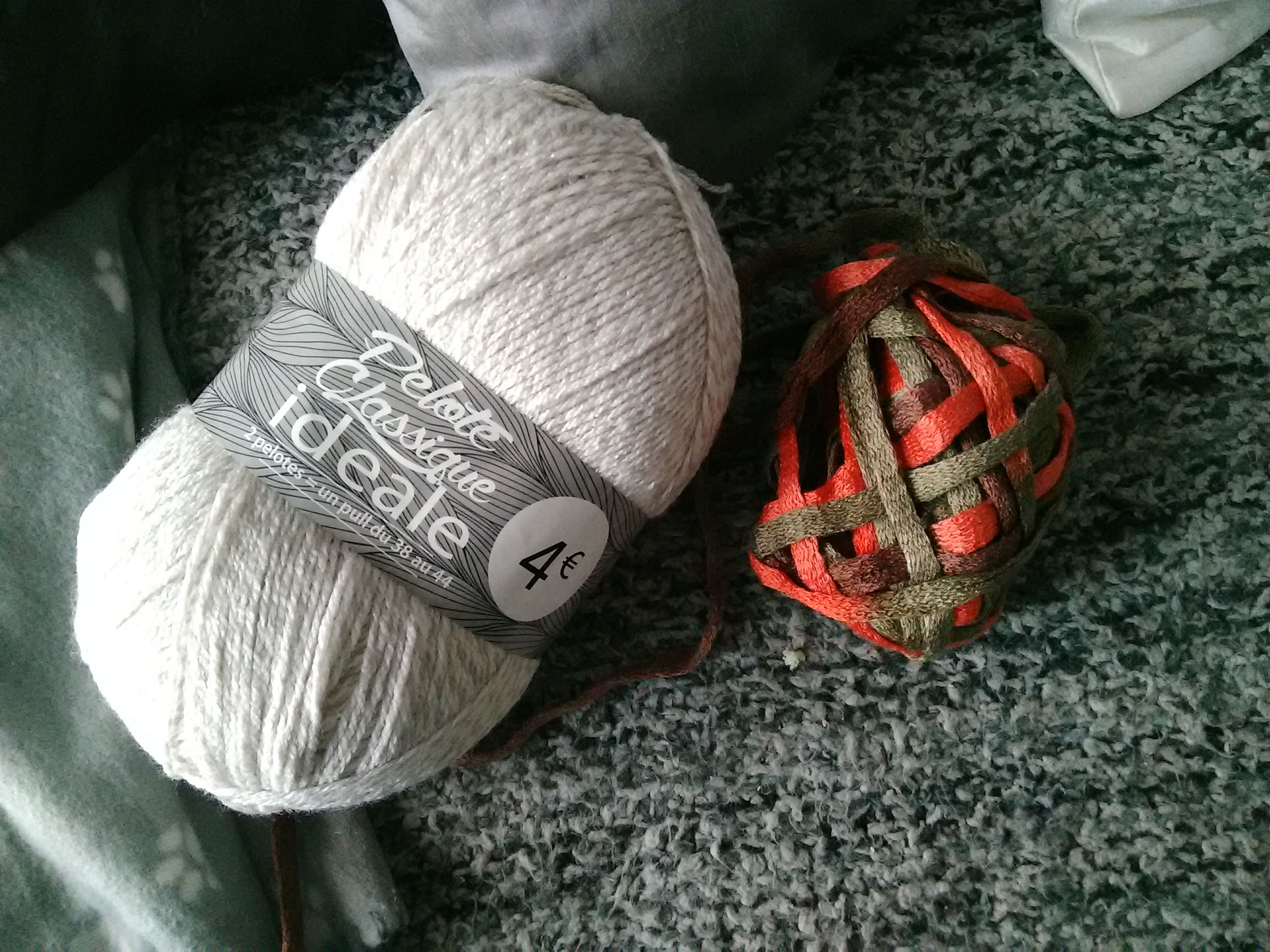 pelote de laine a babou