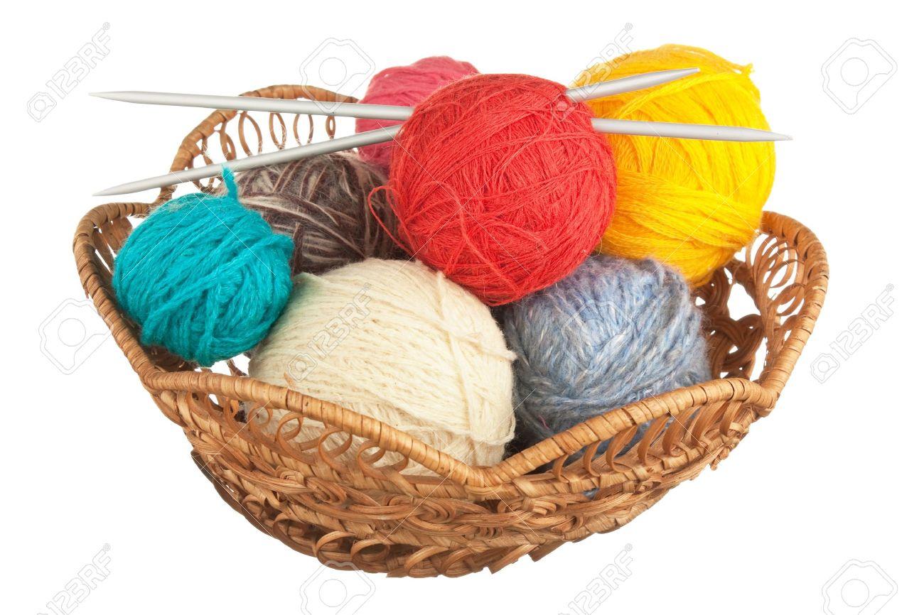 pelote de laine a tricoter