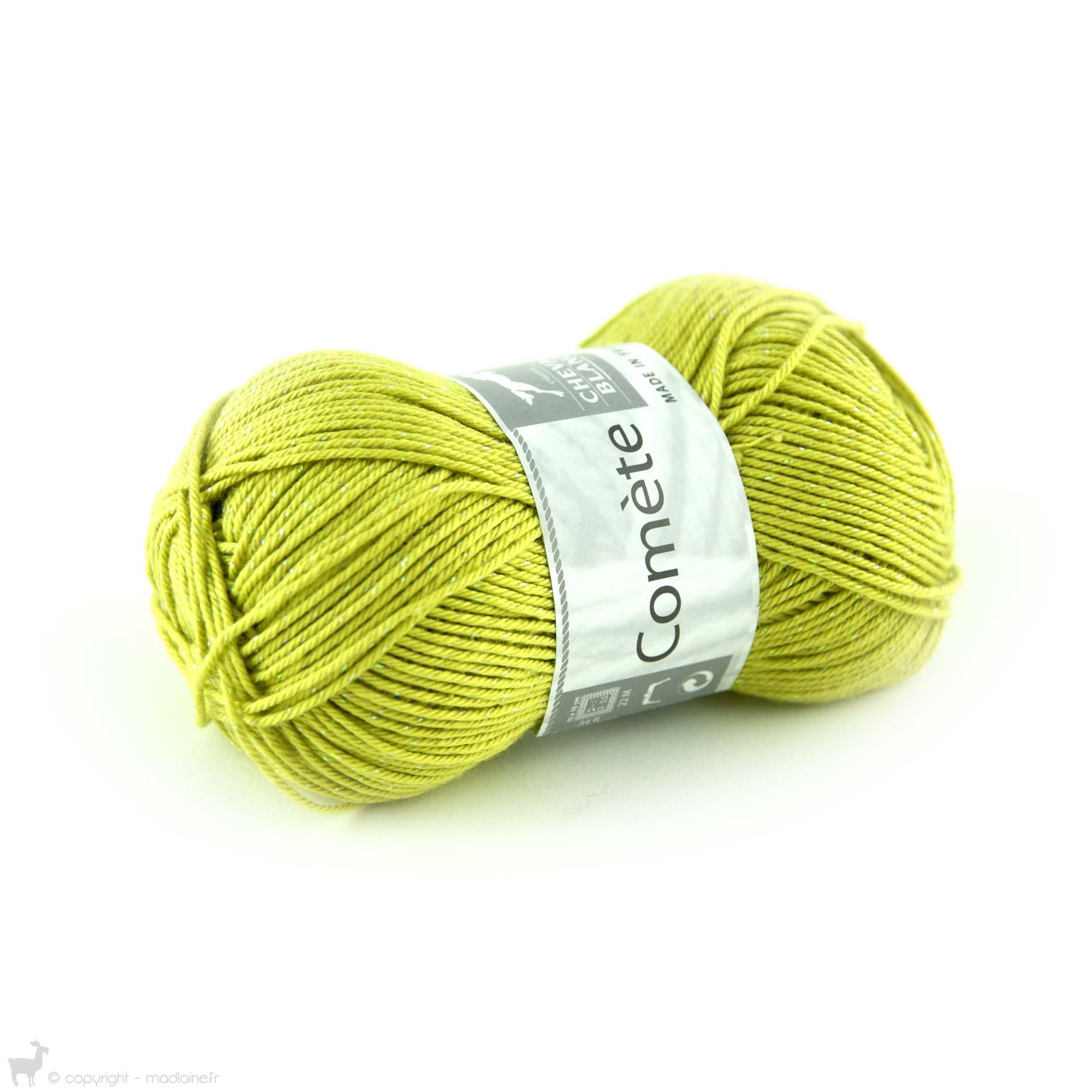 pelote de laine cheval blanc