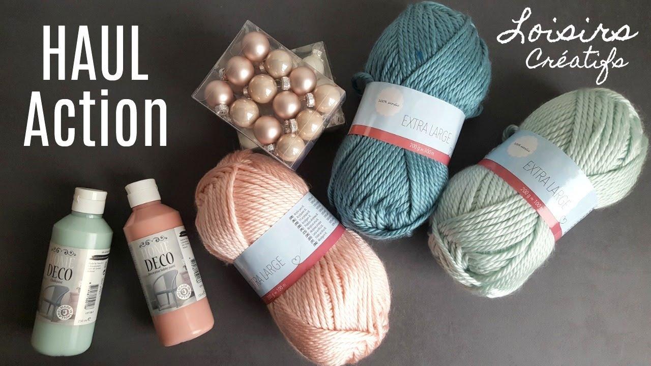pelote de laine chez action