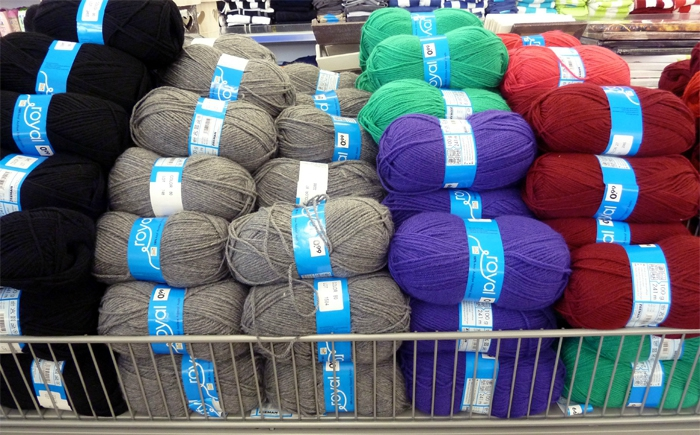 pelote de laine chez zeeman