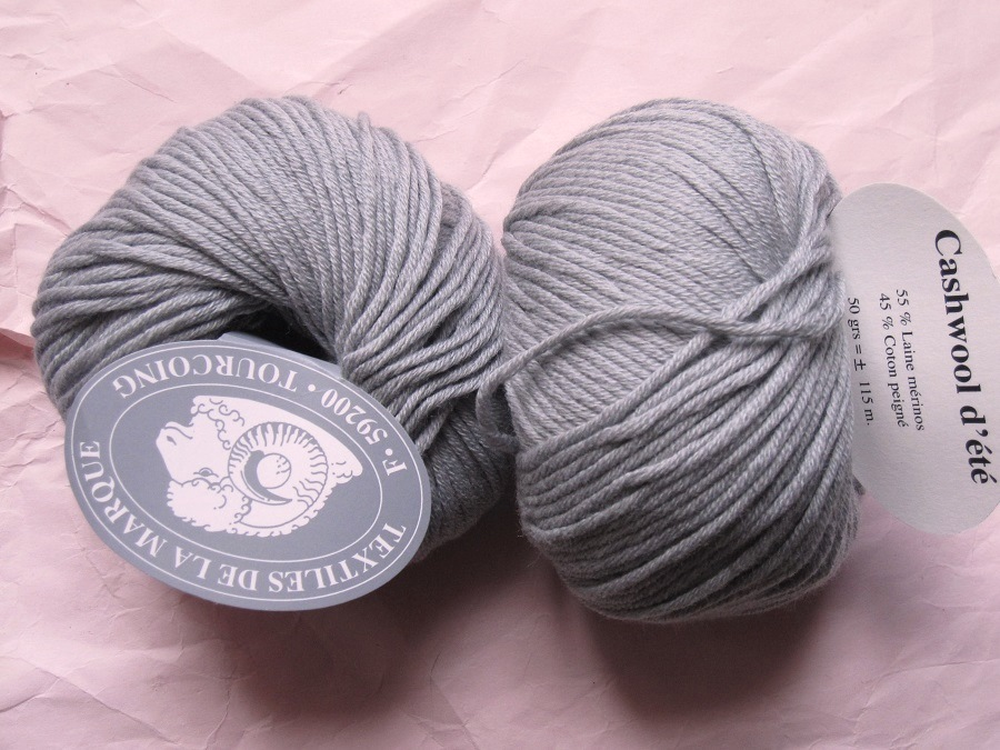 pelote de laine coton