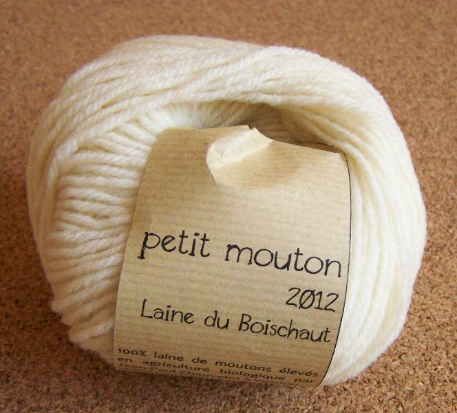 pelote de laine de mouton