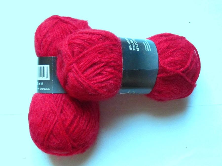 pelote de laine des pyrenees