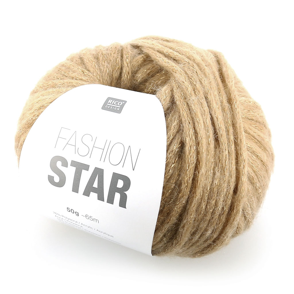 pelote de laine doree