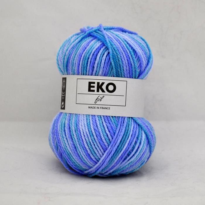 pelote de laine eko fil color