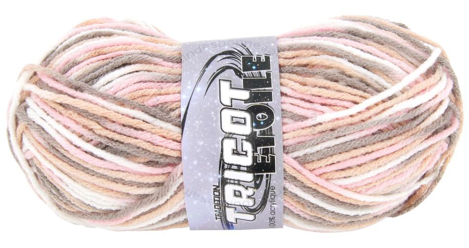 pelote de laine gris chine