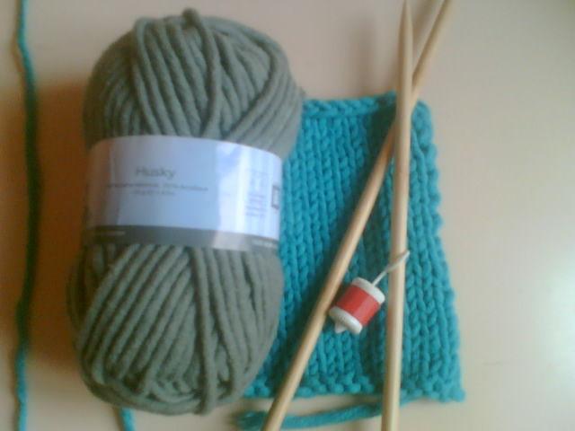 pelote de laine husky