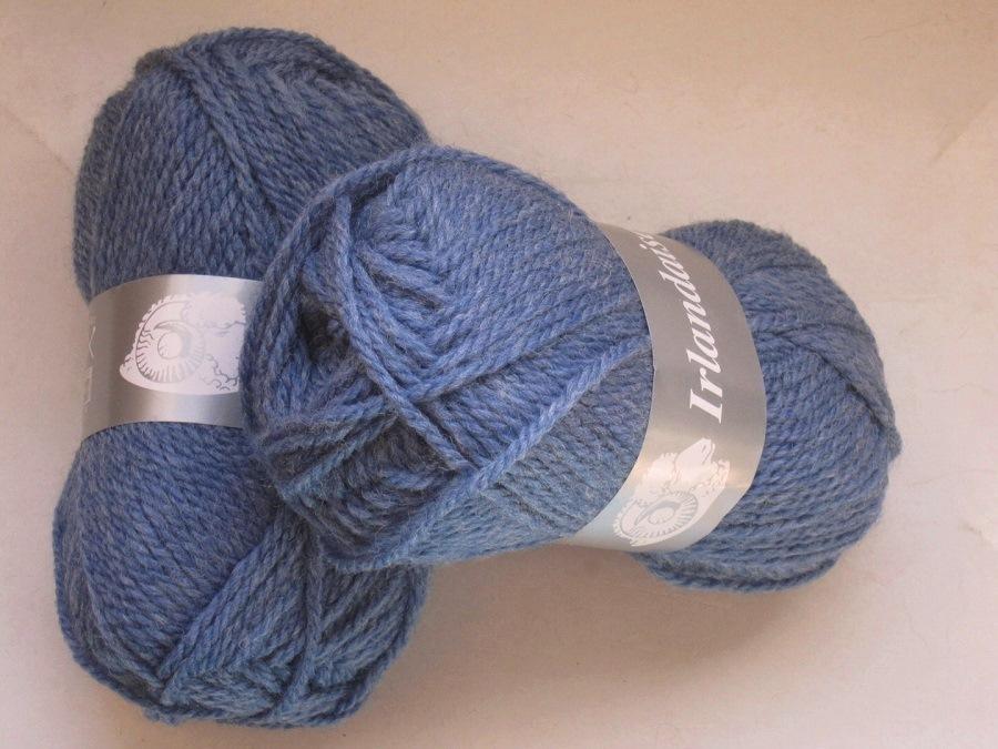 pelote de laine irlandaise