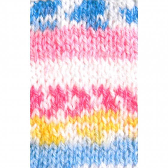 pelote de laine jacquard