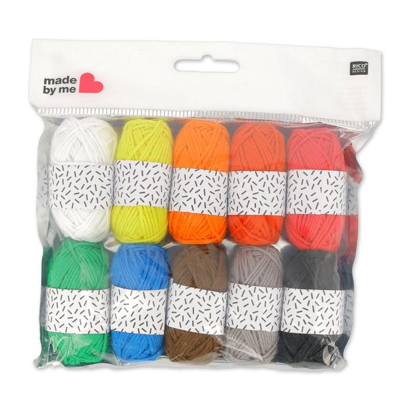 pelote de laine made by me
