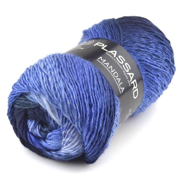 pelote de laine mandala