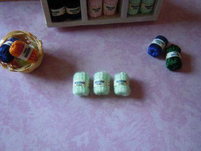 pelote de laine miniature