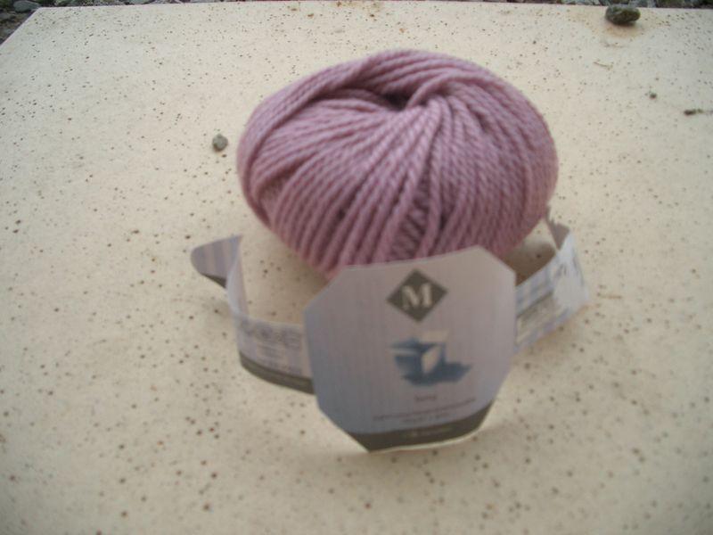 pelote de laine monoprix