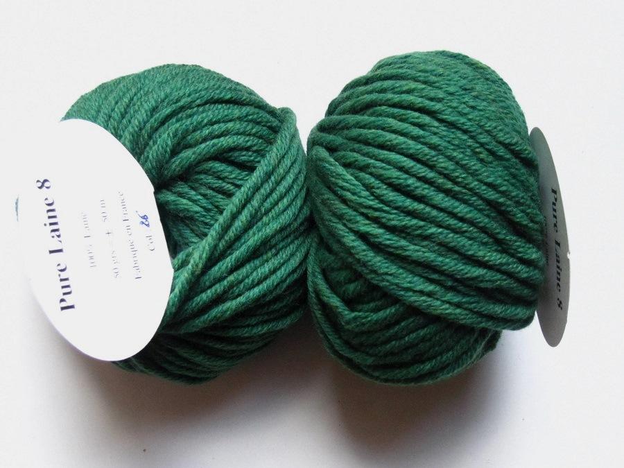 pelote de laine n 8