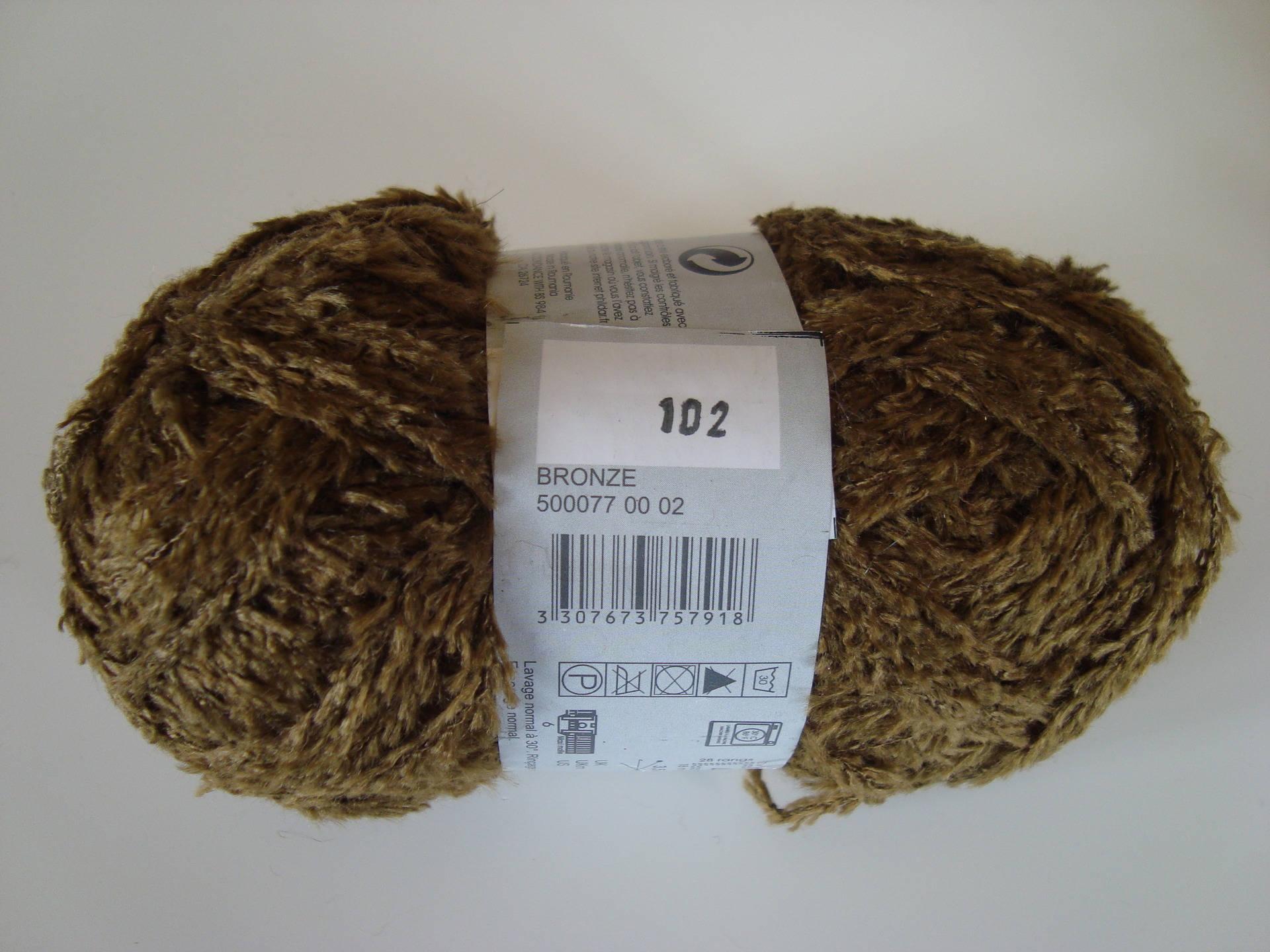 pelote de laine ourson