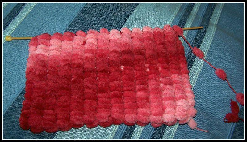 pelote de laine pour faire une echarpe