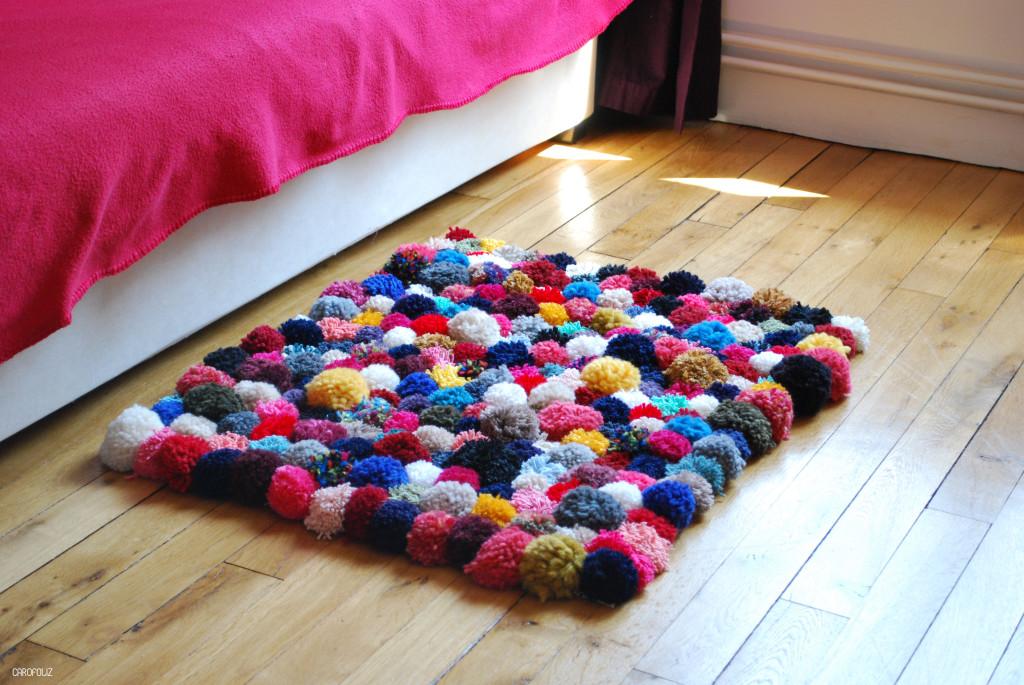 pelote de laine pour tapis