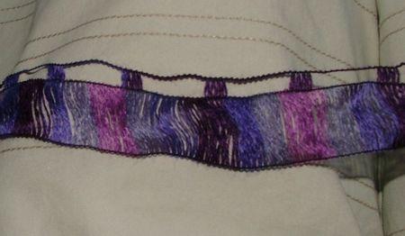 pelote de laine ruban