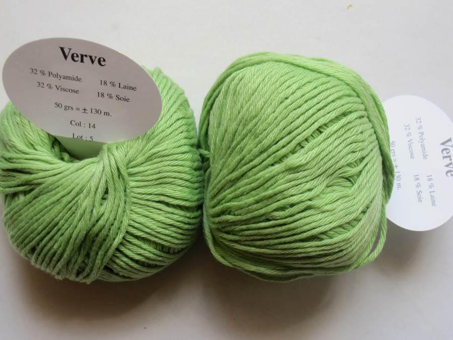 pelote de laine soie
