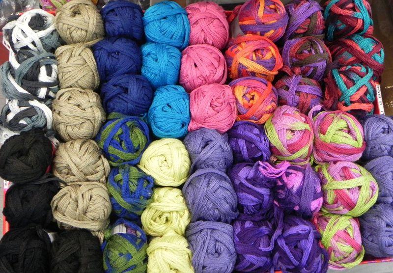 pelote de laine speciale echarpe