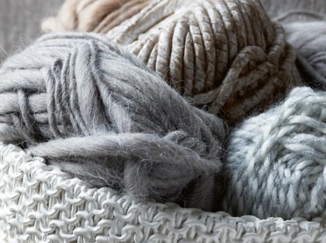pelote de laine tres douce
