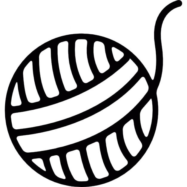pelote de laine vector