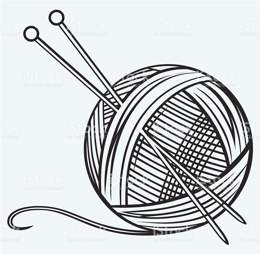 pelote de laine vectoriel
