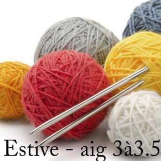 pelote de laine vierge
