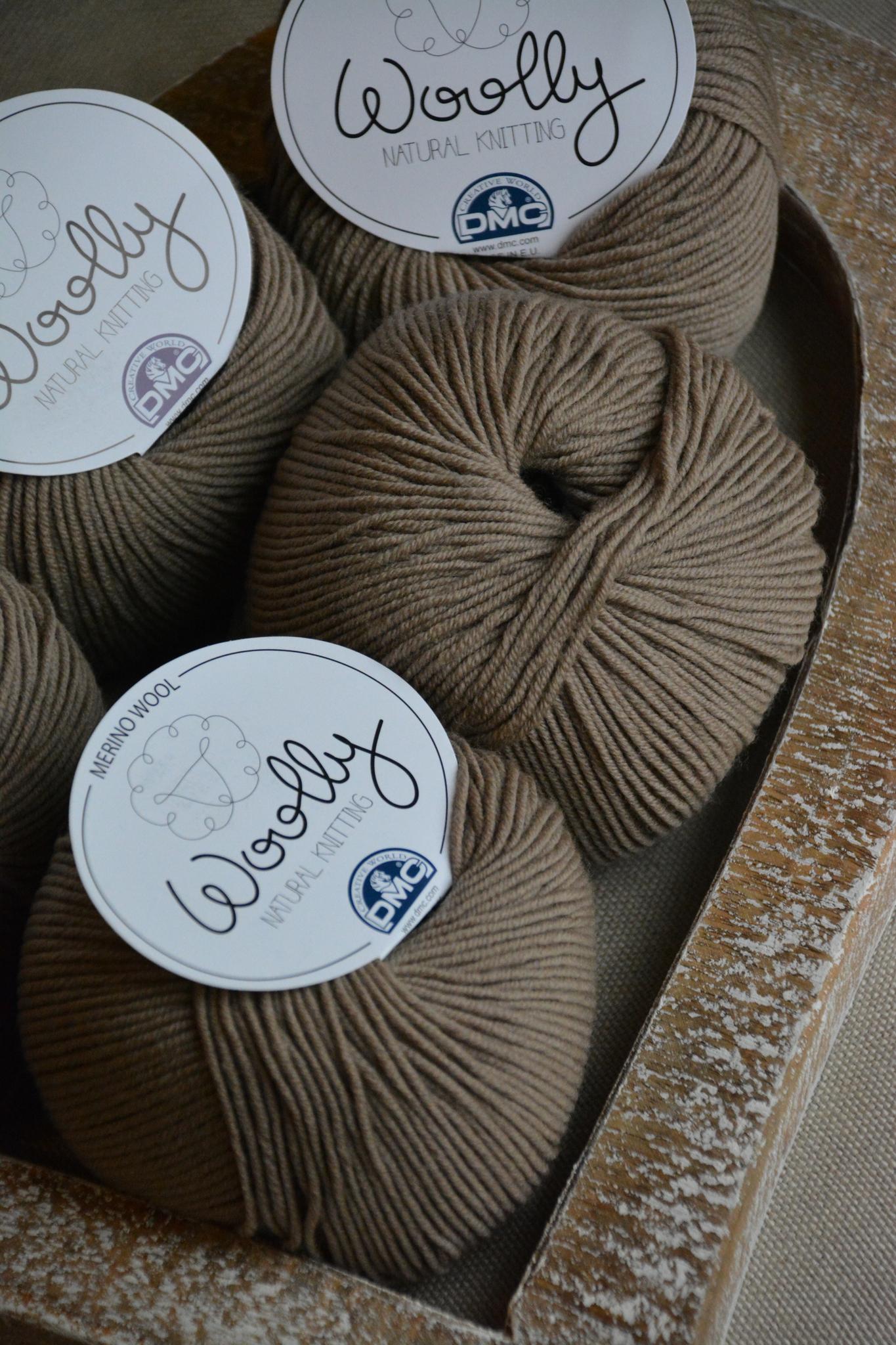 pelote de laine wooly