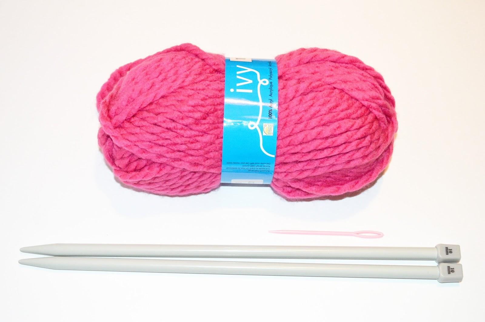 tricot laine aiguille 10