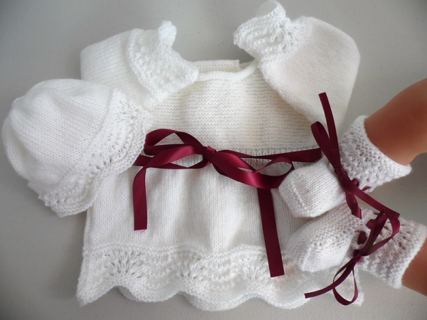 tricot laine bebe