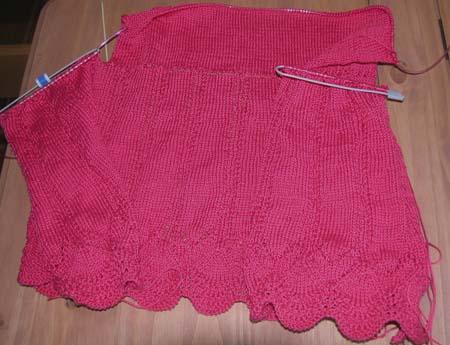 tricot laine bernat