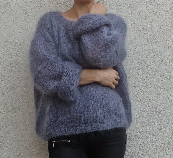 tricot laine bouclee