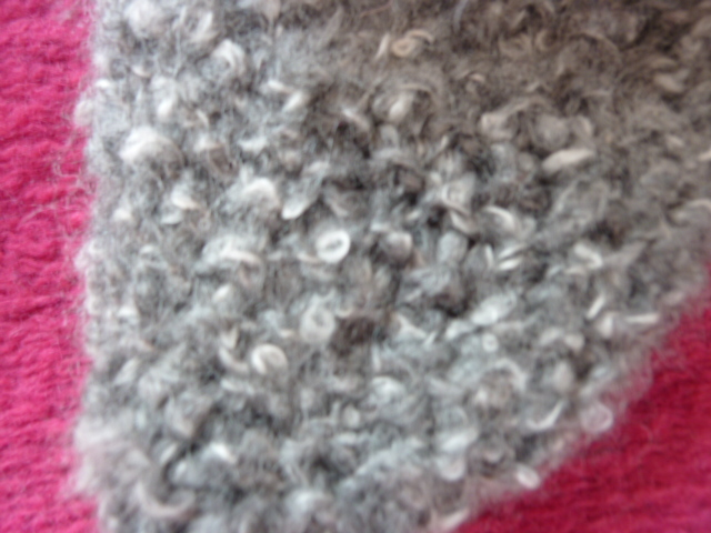 modele tricot laine bouclette