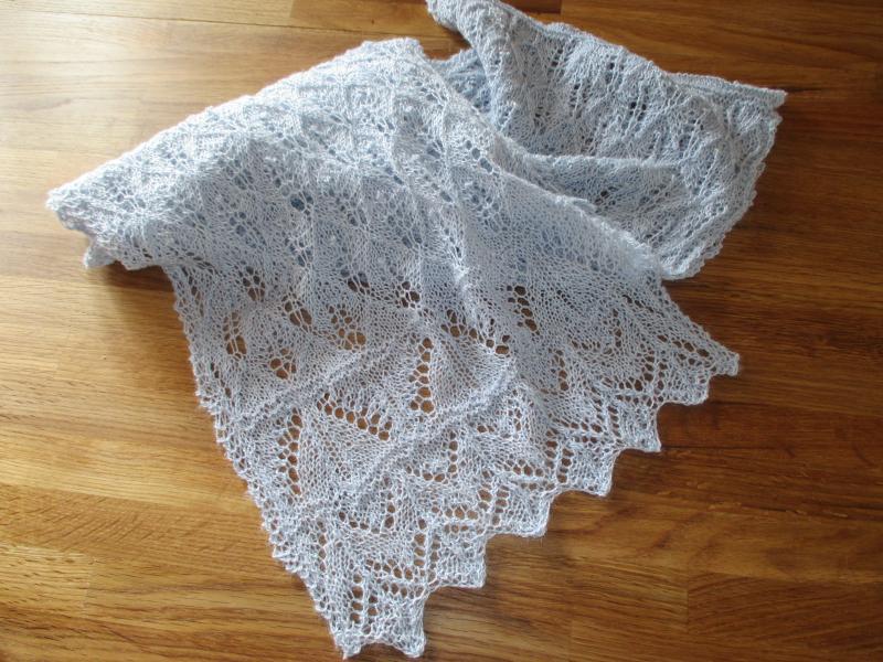 tricot laine dentelle