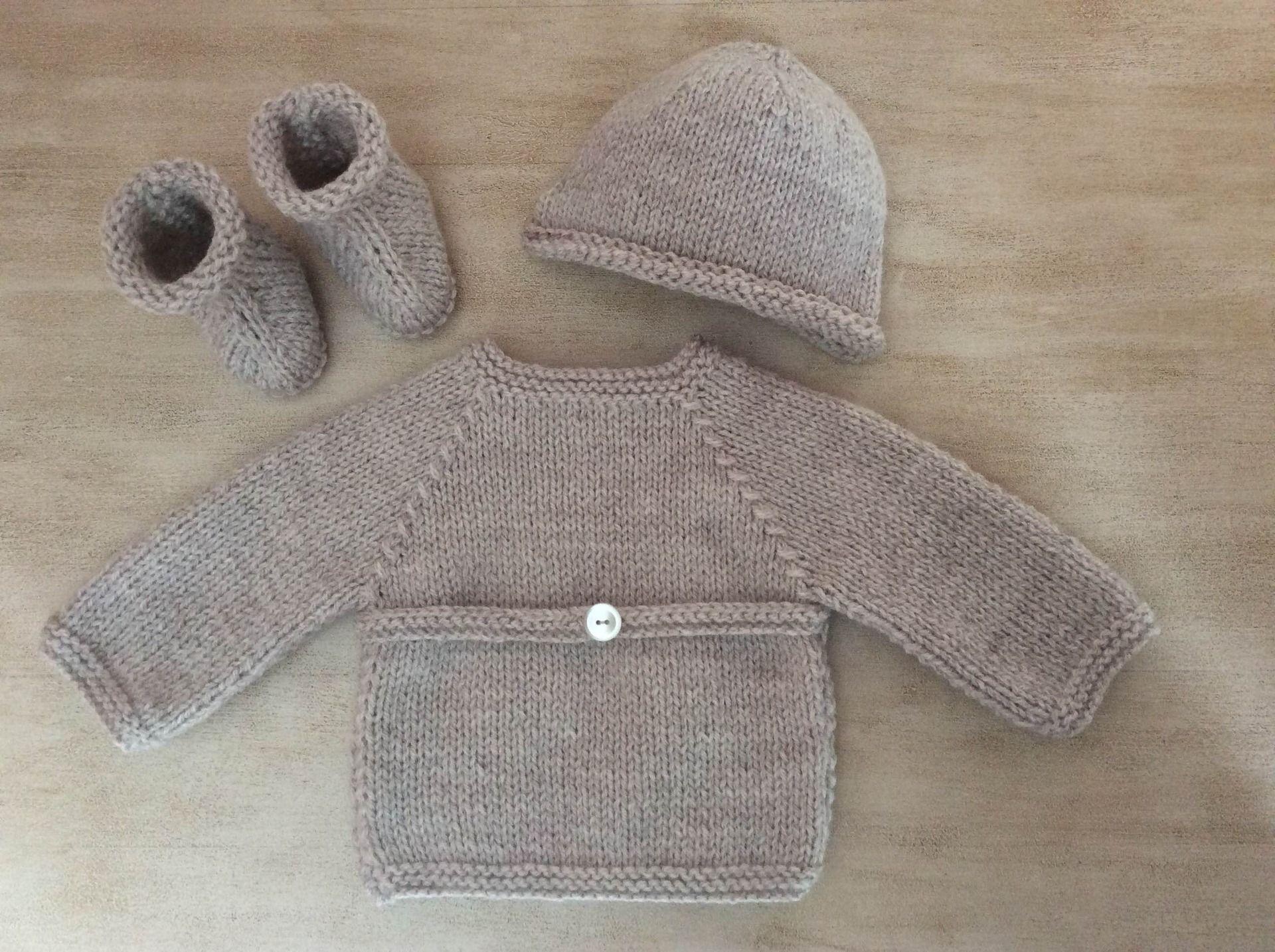 tricot laine fait main